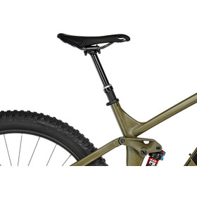 Trek Full Stache 8 matte olive grey/gloss volt green